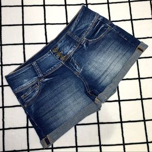 SWS Denim Co. | Low Rise Jean Shorts